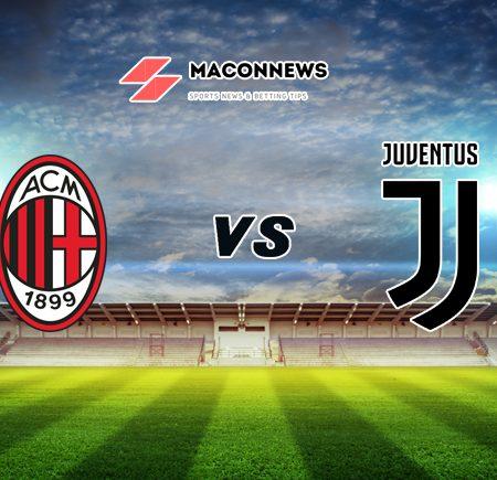 Nhận định tỷ số 1xBET trận đấu AC Milan vs Juventus, 02h45 – 07/01