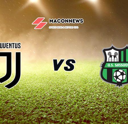 Soi kèo tỷ số bóng đá trận Juventus vs US Sassuolo, 02h45 – 11/01