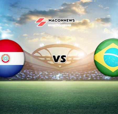 Soi kèo bóng đá 12BET trận Paraguay vs Brazil, 07h30 – 09/06