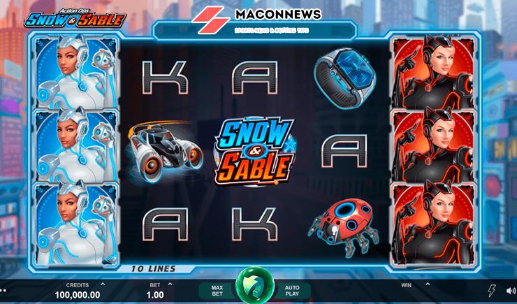 Hướng dẫn cách chơi Action Ops Snow And Sable Slot